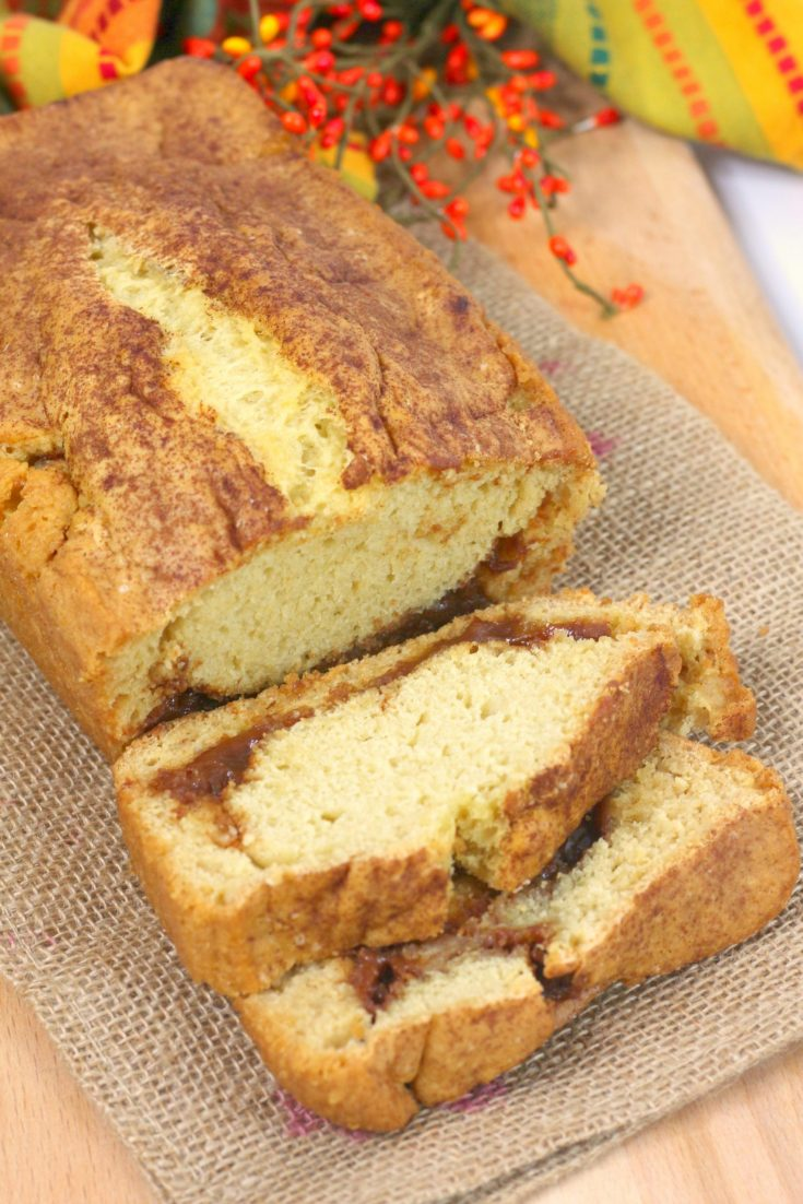 Cinnamon Swirl Beer Bread