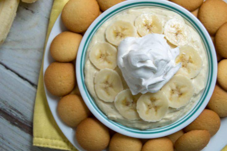 Banana Cream Pie Cheesecake Dip