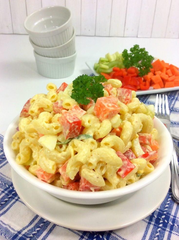 Summertime Macaroni salad