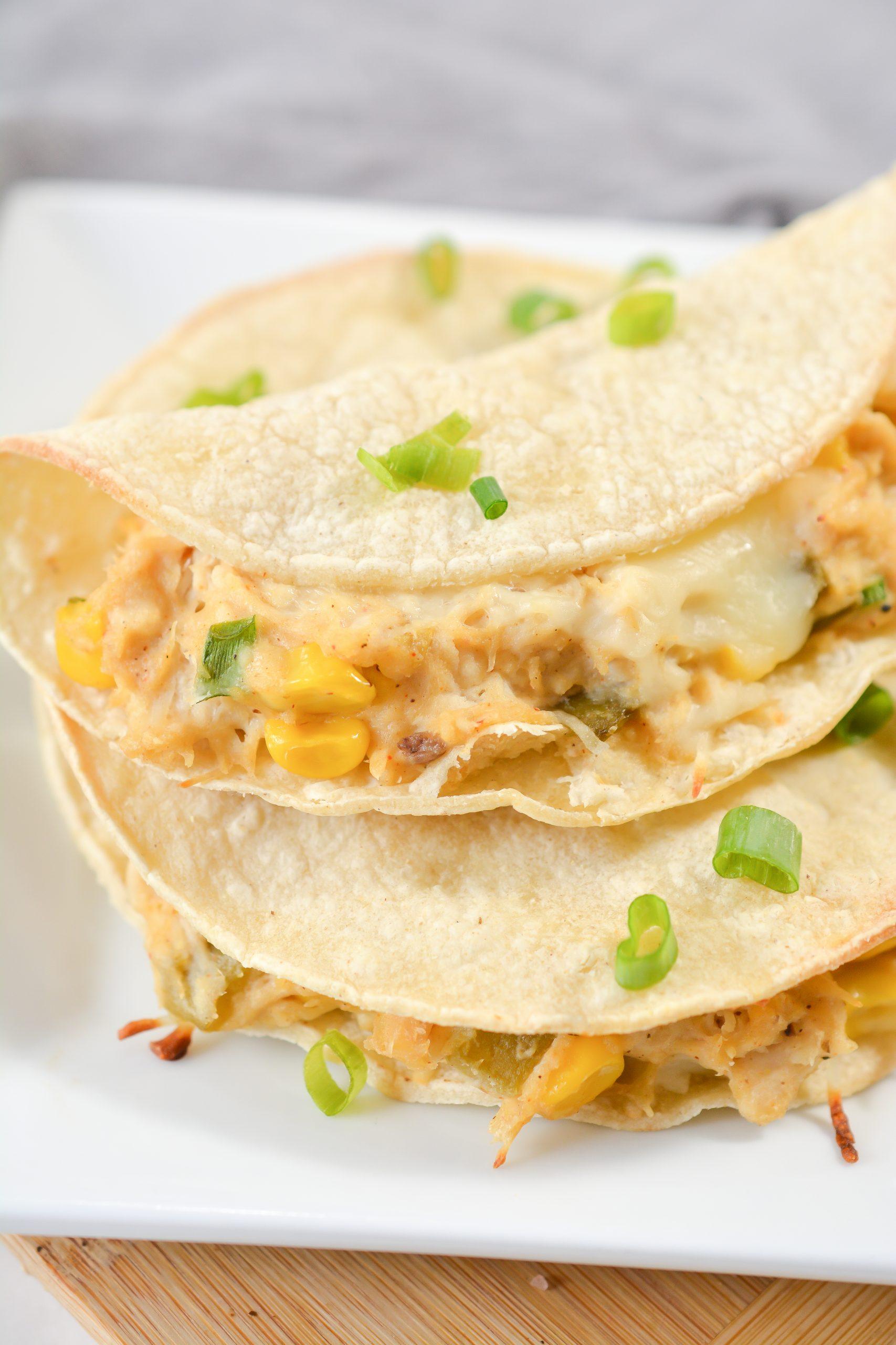 White Chicken Chili Tacos