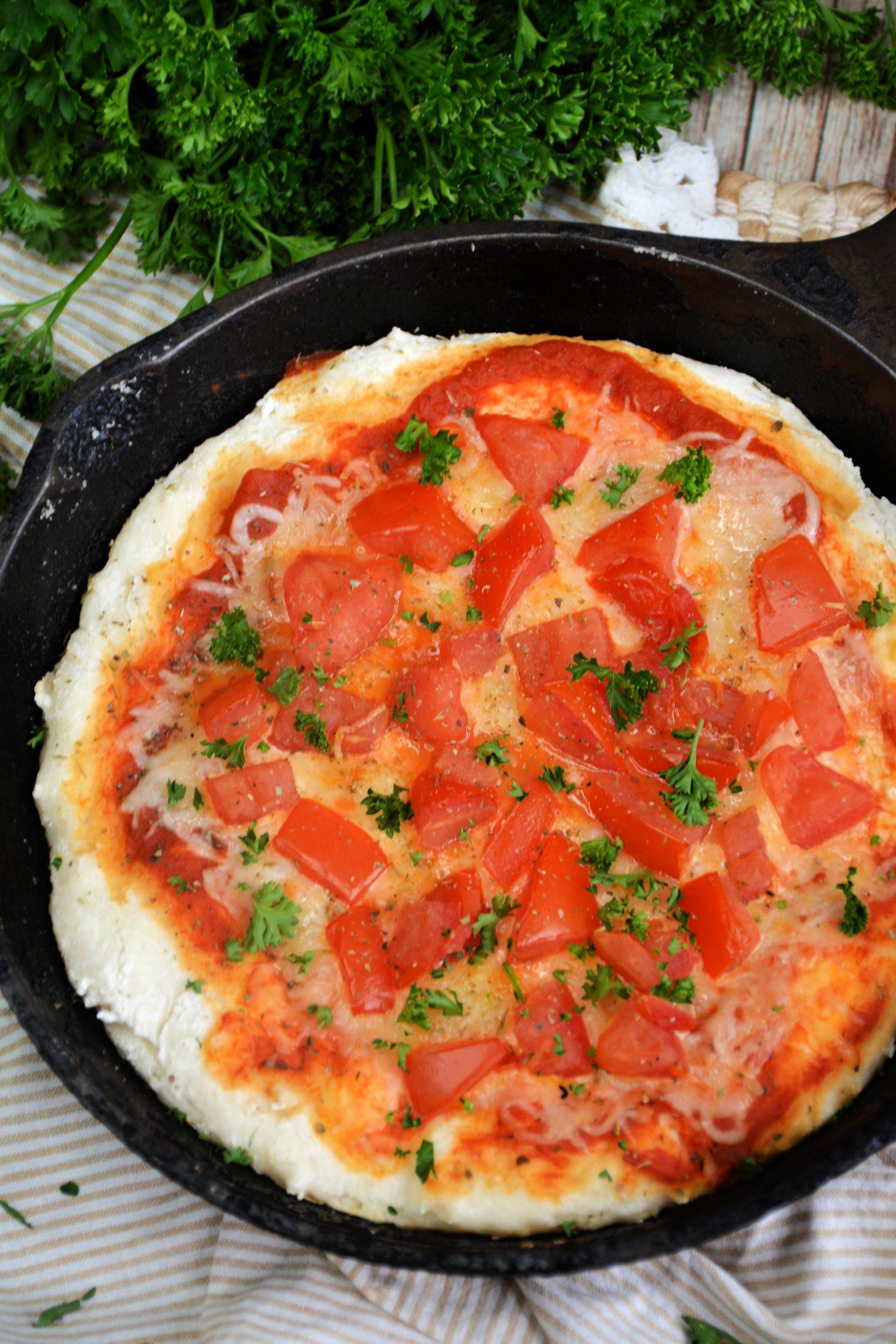 2 Ingredient Pizza Dough