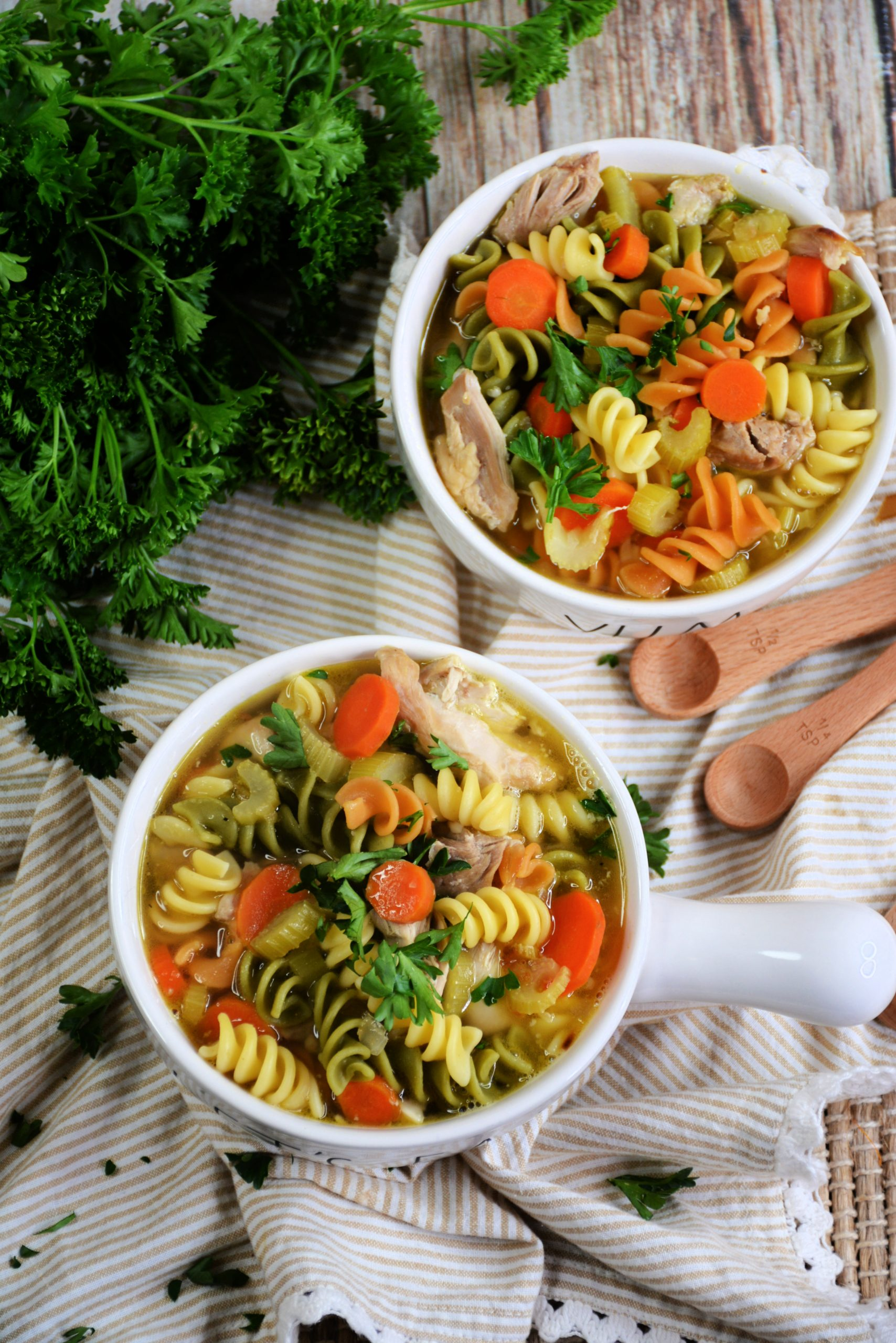 Skinny Chicken Noodle Soup