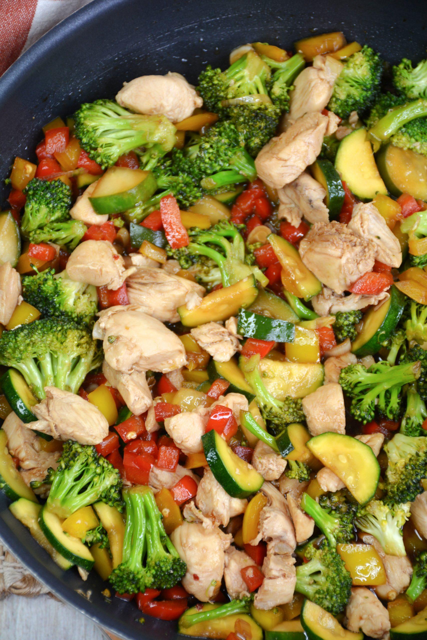 Skinny Chicken Stir Fry