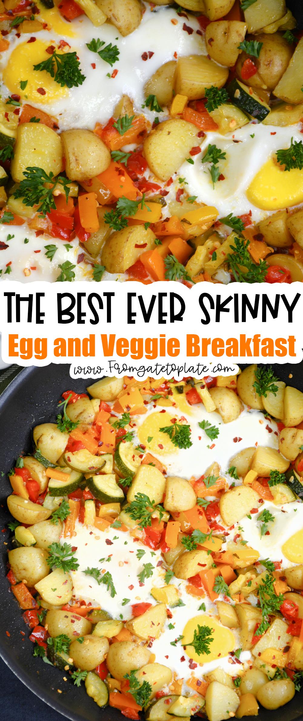 Skinny Egg and Veggie Breakfast