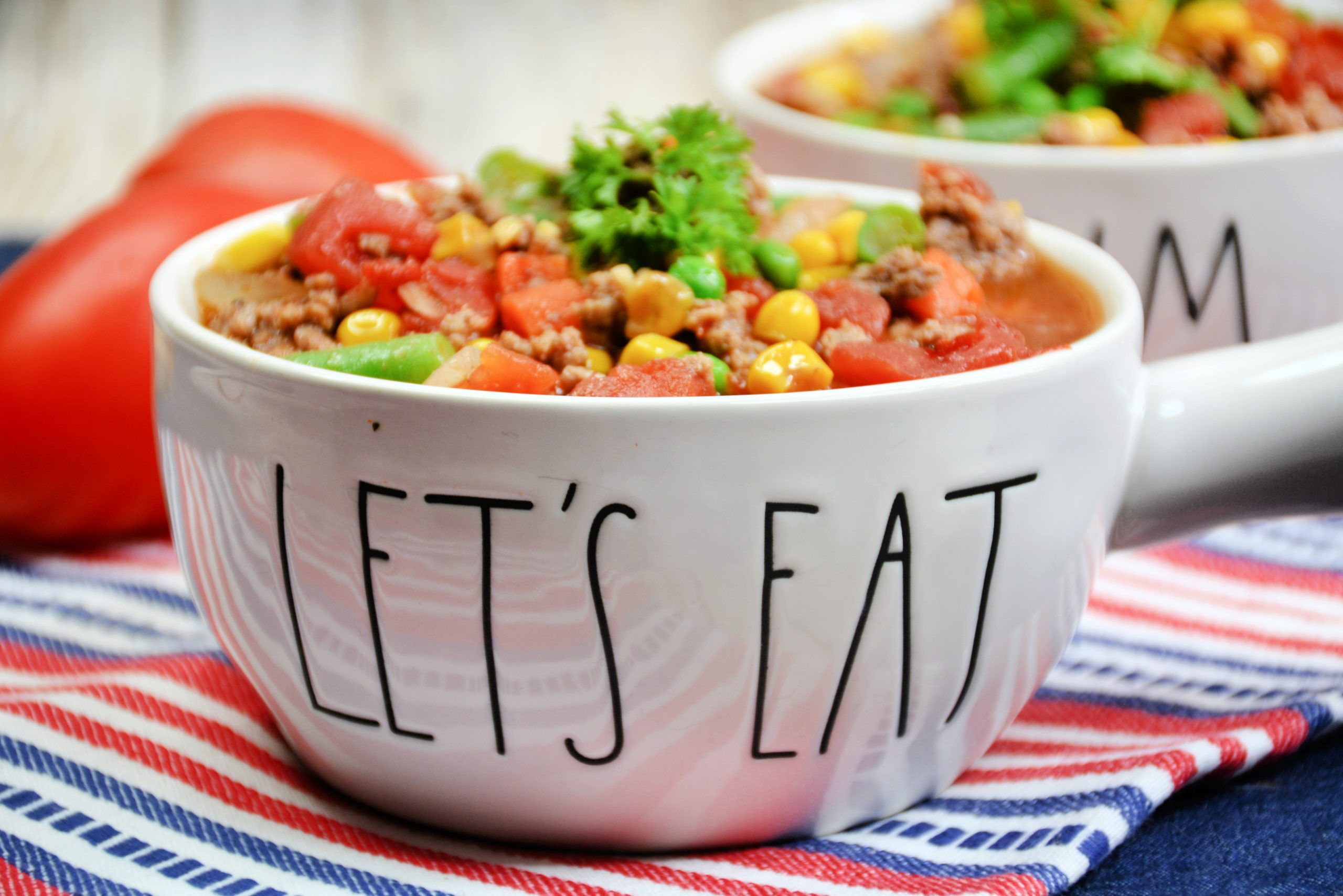 Skinny Vegetable Beef Soup