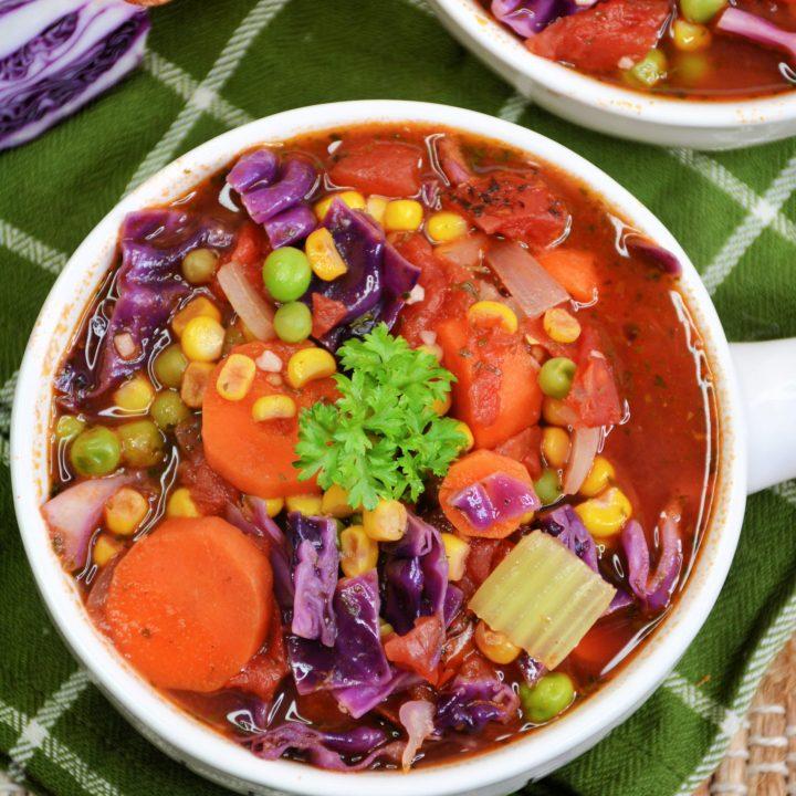 Zero Point Weight Watchers Vegetable Soup