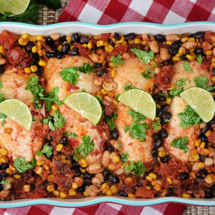 MEXICAN-CHIPOTLE CHICKEN CASSEROLE
