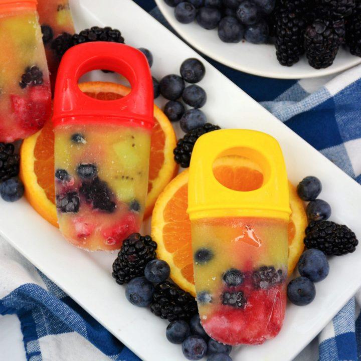 Weight Watchers Frozen Fruit Pops